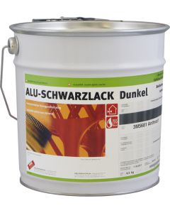 ALU-SCHWARZLACK Dunkel Patinaimitation Aussen/Innen 3M5681 Anthrazit Seidenmatt
