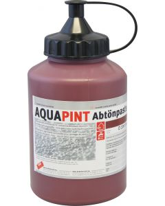 AQUAPINT Abtönpaste Aussen/Innen D 206 Eisenoxydrot