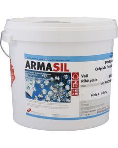 ARMASIL crépi siliconique Ribé plein 1 mm AS-PROTECT Extérieur Blanc