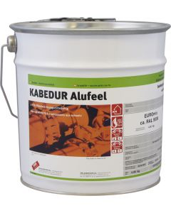 EUROmix KABEDUR Alufeel Aussen/Innen ca. RAL 9006 Seidenglanz