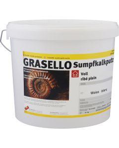 GRASELLO Sumpfkalkputz Voll 1.0 mm Innen Weiss