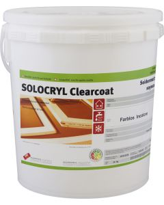 SOLOCRYL Clearcoat Innen Farblos Seidenmatt