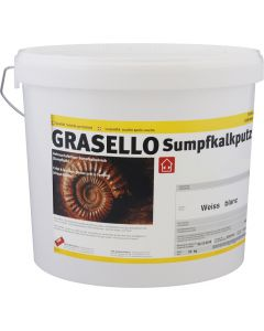 GRASELLO Sumpfkalkputz Fein 0.7 mm Innen Weiss