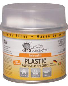 airo 2K Polyester-Spachtel inkl. Härter 250 g Einzelstück Innen/Aussen Grau