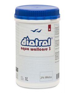 Diotrol Aqua Wallcare 3 1L Innen weisslich 2% Seidenmatt