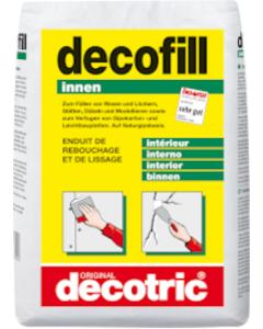 DECOTRIC decofill Füllstoff Sack à 10 kg Innen