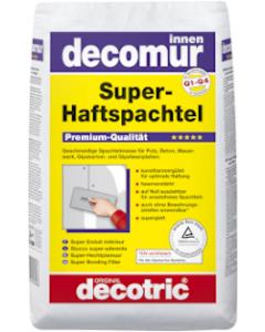DECOTRIC decomur Super-Haftspachtel Sack à 15 kg Innen