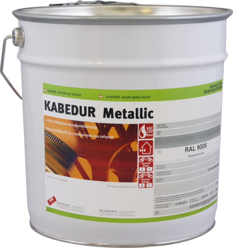 Metallic-, Effektlacke, Eisenglimmer